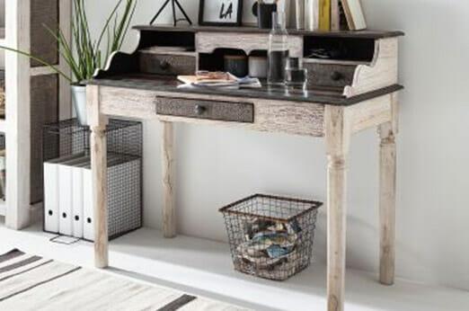 Schreibtisch Goa White