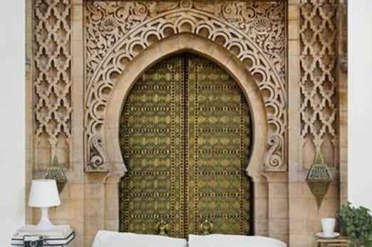 Orientalischer Eingang als Vliestapete