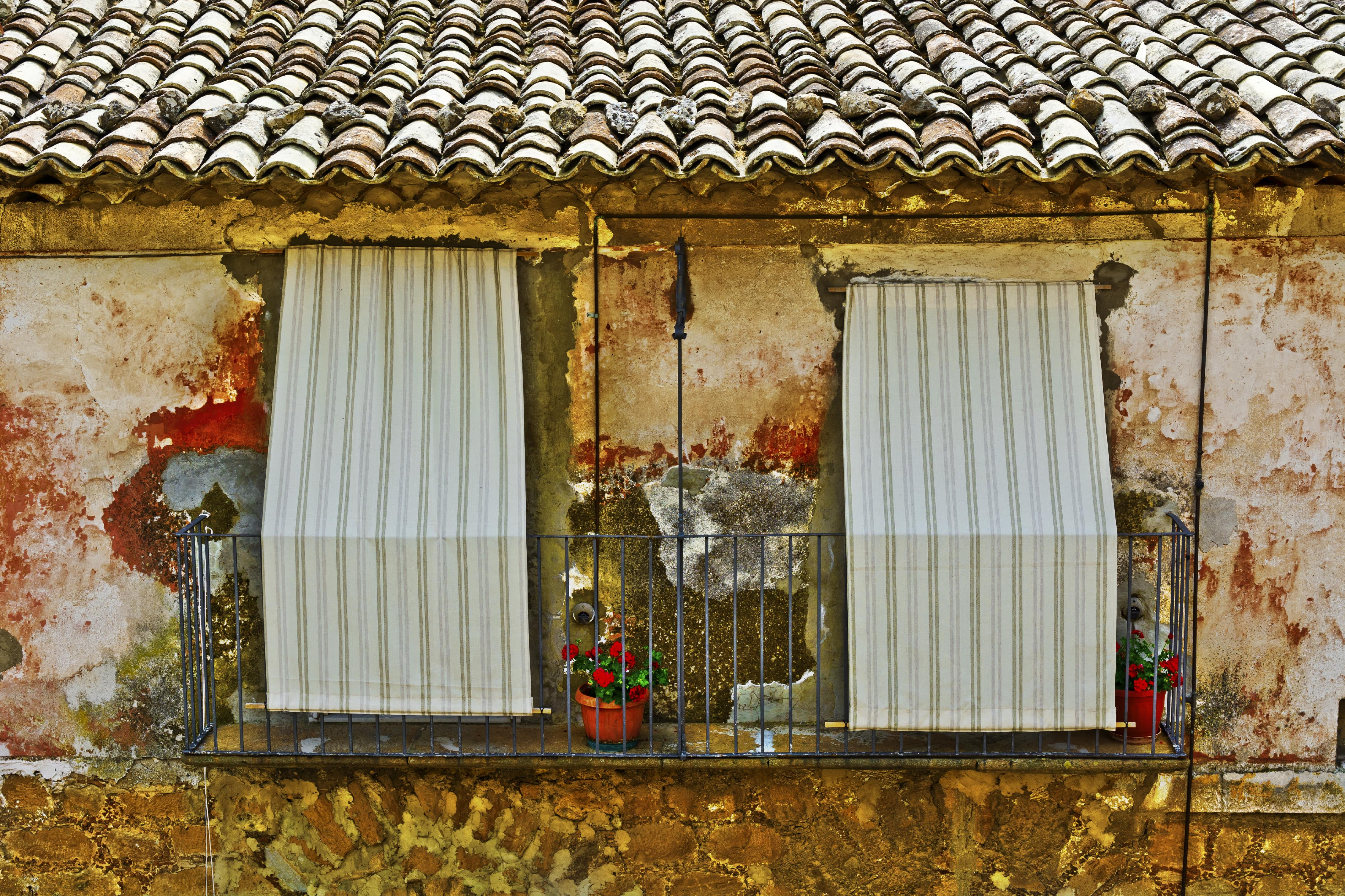 Sichtschutz Auf Dem Balkon Sorgt Für Privatsphäre
