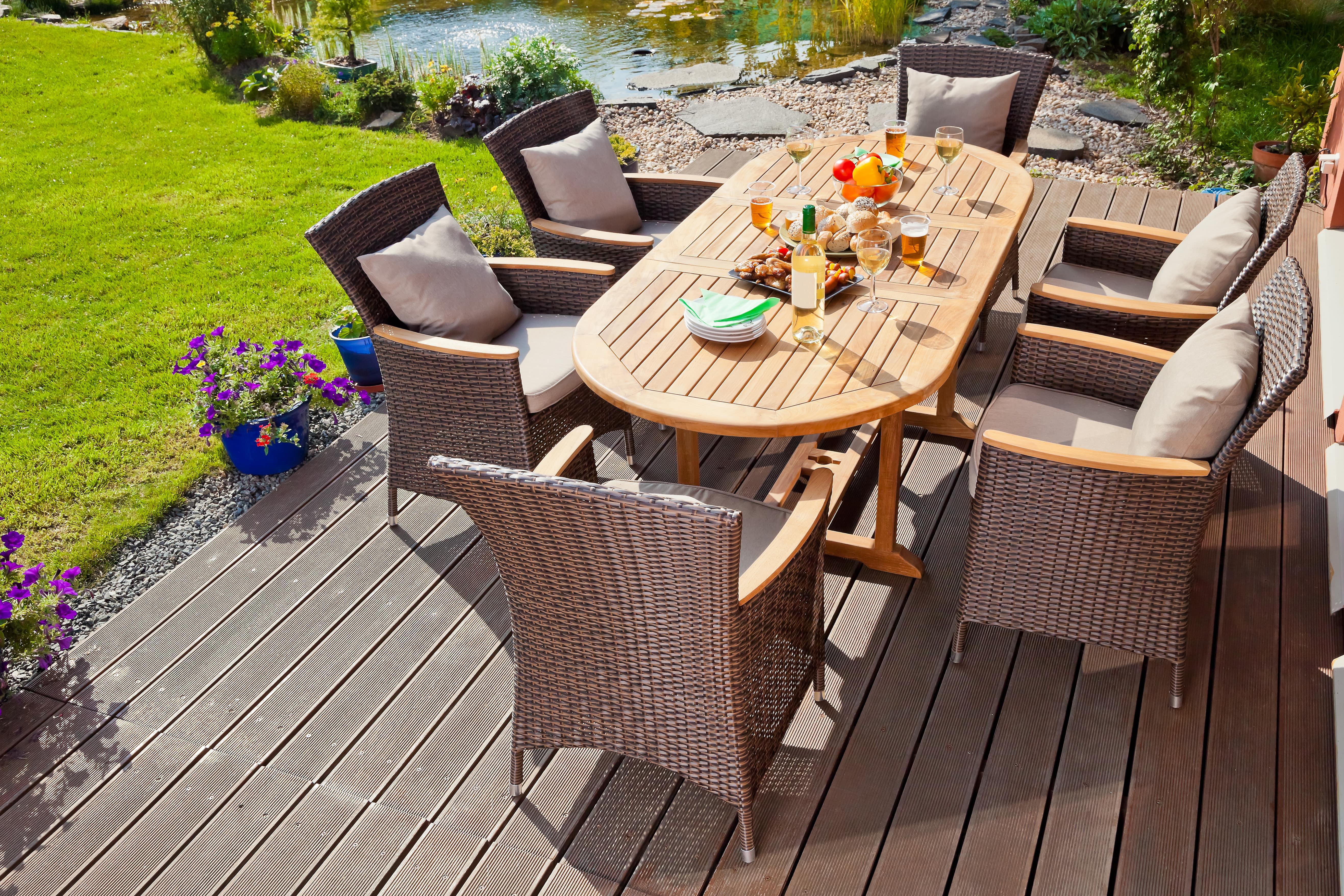 Terrassenmöbel - Qualität & Vorlieben stehen im Fokus
