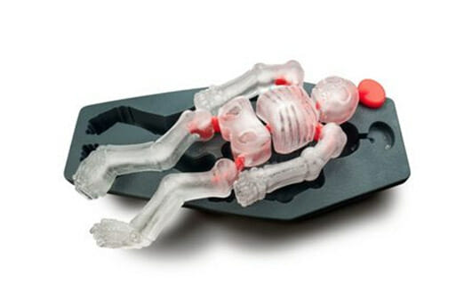 Eiswürfelform Tanzendes Skelett