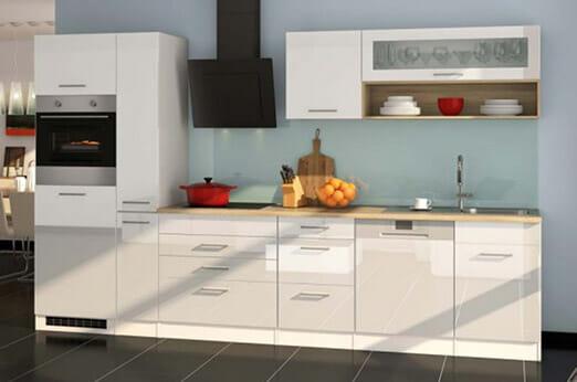 Kücheneinrichtung Sonoma mit Geräten (12-teilig)