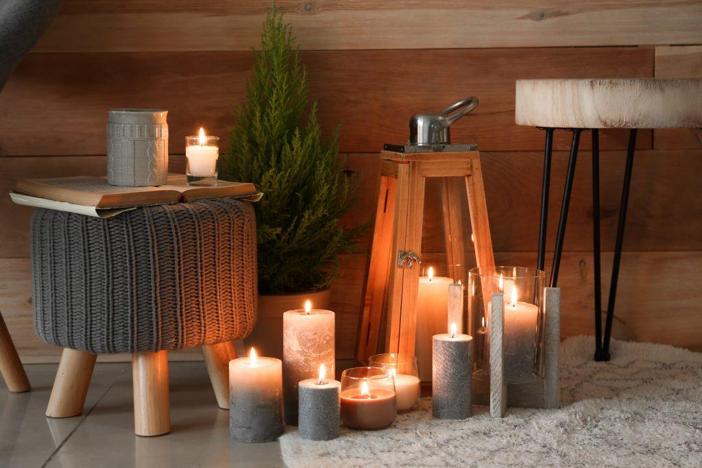 Zuhause Winterfest Kerzen Galerie 4