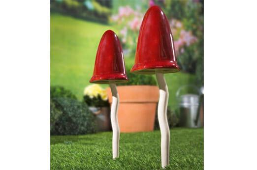 Wackel-Pilz rot-weiß