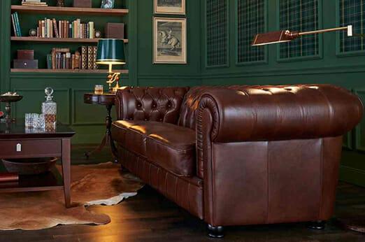 Max Winzer® Chesterfield Sofa Kent
