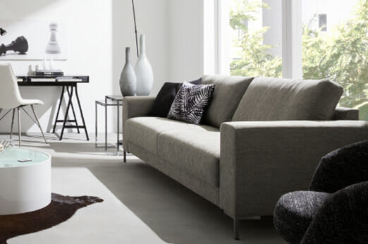 Lounge Couch  in Grau