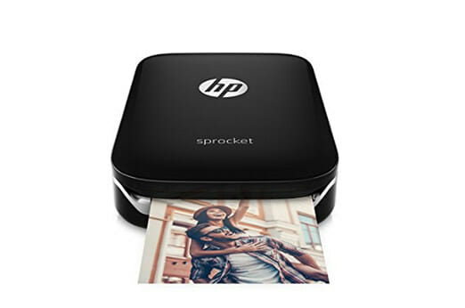 HP Sprocket Mobiler Fotodrucker