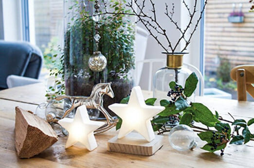 Kleiner LED Stern Shining Star