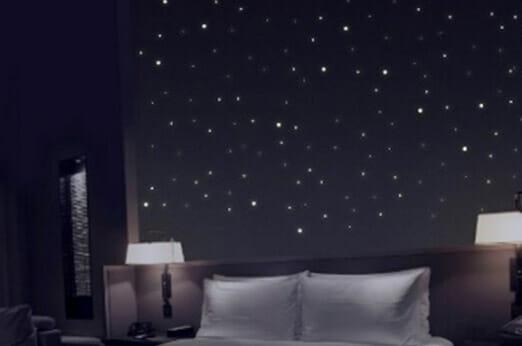 Sternenhimmel aus 277 Leuchtpunkten