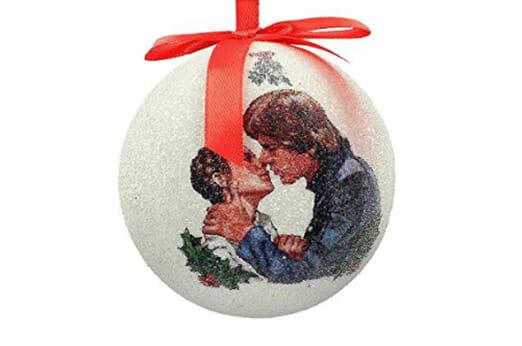 STAR WARS Han und Leia Weihnachtskugel