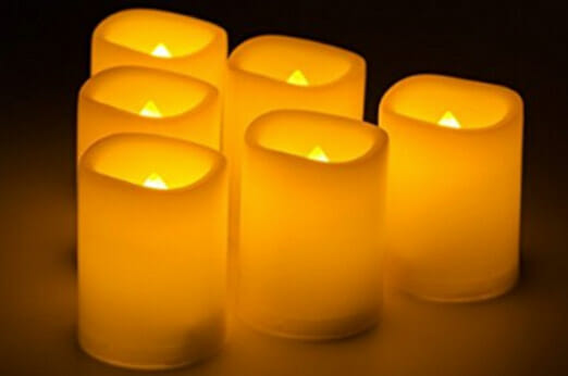 Kohree 6 LED Flammenlose Kerzen