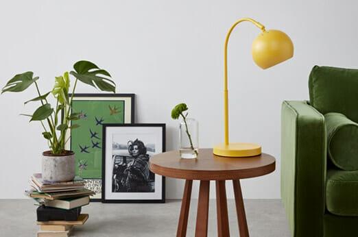 Jak Tischlampe Chartreuse
