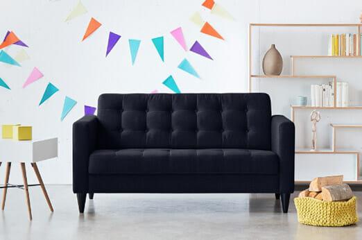 Sofa Wallace (2-Sitzer) Webstoff