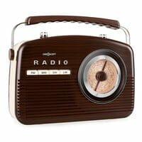 Kofferradio UKW MW Retro 50er