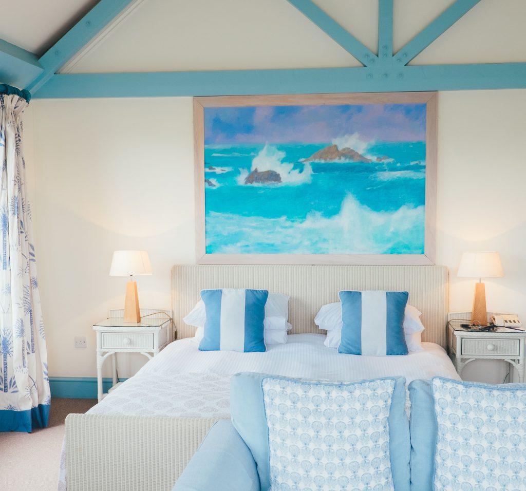 Strandhaus stil maritim schlafzimmer