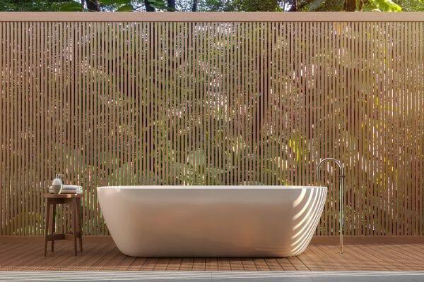 Badewanne im Freien Vorschau