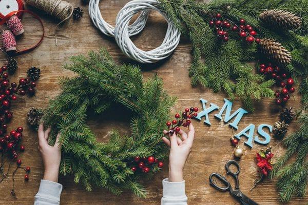 Weihnachtsdeko basteln Vorschau