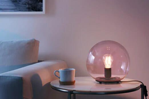 FADO Tischleuchte rosa