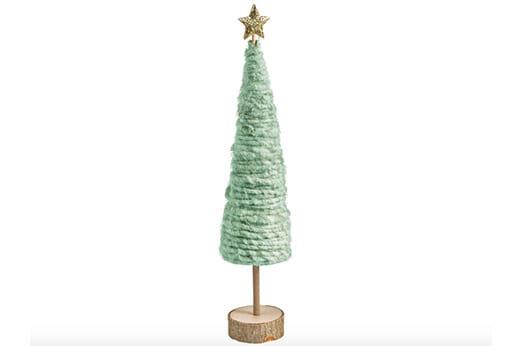 Dekobaum Weihnachtsbaum grün