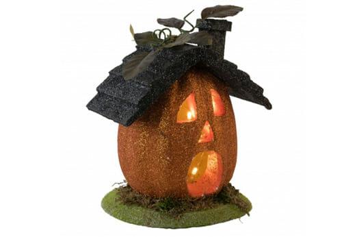 Kürbis Haus Halloween Deko