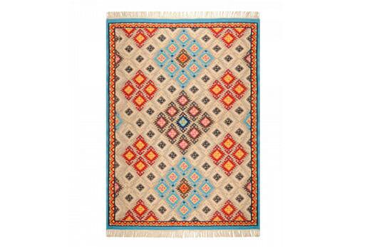 Teppich Kelim Royal mehrfarbig