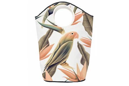 Wäschesammler Orange Parrot
