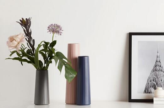 Lief grosse Vase Rosa