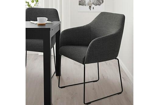TOSSBERG Stuhl Metall schwarz