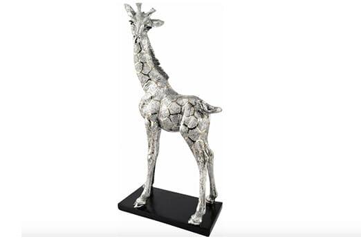 Giraffe Big Savannah silber