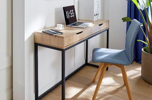 Schreibtisch Dalem Metall/natur