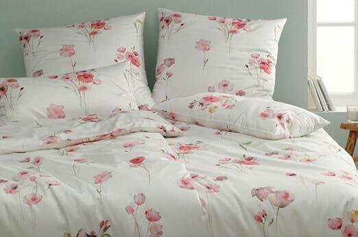 Bettwäsche Poppy Flower rosa