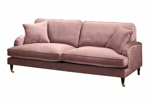 Sofa Bethania Samt Mauve