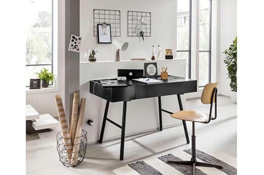 Schreibtisch Zola schwarz