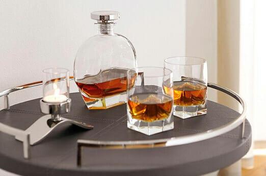 Whisky-Set GALWAY (5er-Set) farblos
