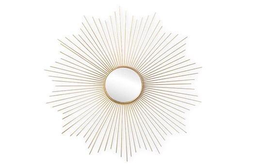 Spiegel Sonne golden