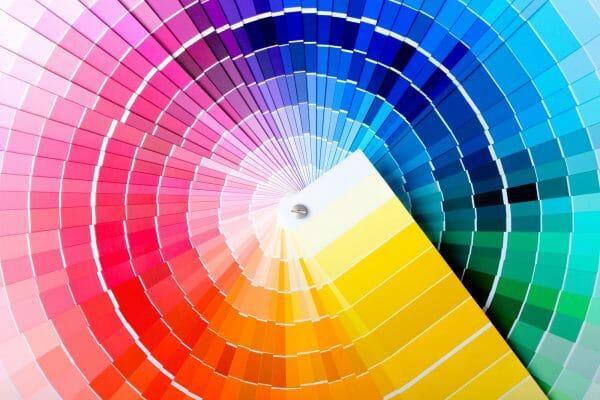 Pantone Farben Vorschau