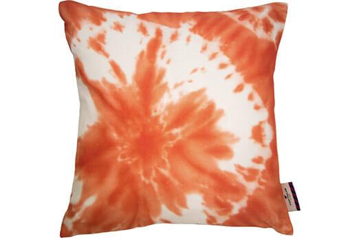 Dekokissen Batic Flower orange