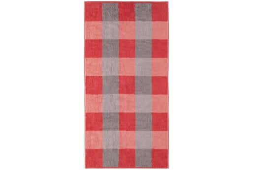 Handtücher Zoom Großkariert rot