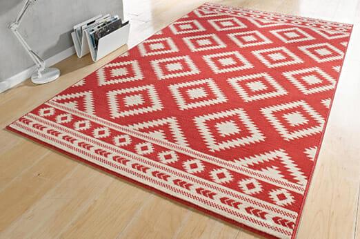 Teppich Ethno rot