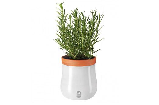 Pflanztopf Serra III (2-teilig) weiß