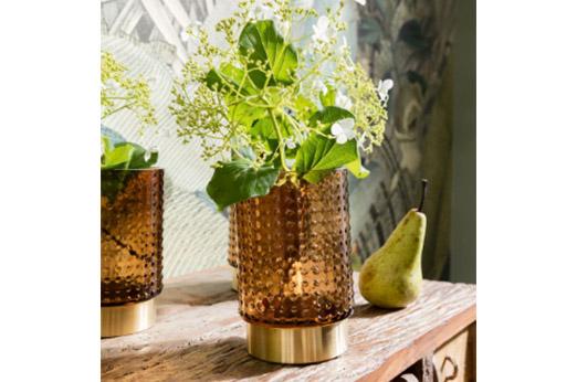 Vase Barfly braun 14cm