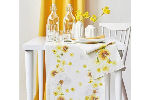 Tischläufer SPRINGTIME 1-tlg gelb