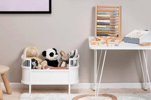 Puppenbett Rosaline Weiß