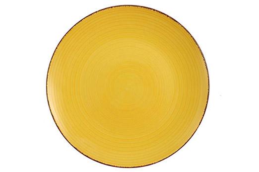 villa baita teller gelb