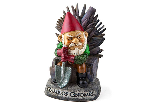 Gartenzwerg BigMouth Inc Game of Gnomes Statue