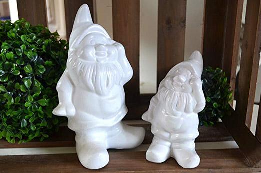 zwerg keramik deko gartenzwerg
