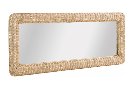 home affaire spiegel rattan