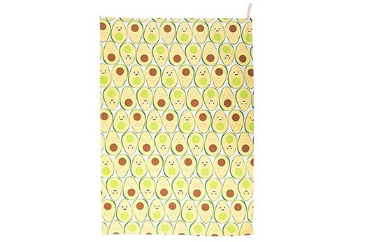 Geschirrtuch Happy Avocado grün Früchte
