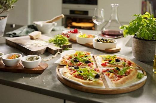 Villeroy & Boch Runde Pizza Platte Passion weiß