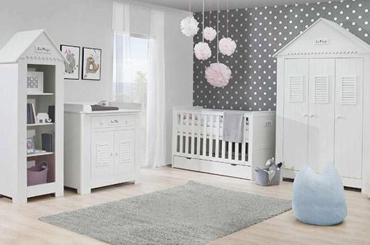 Kombi-Kinderbett Mara weiß